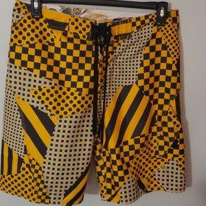 Van's swim trunks